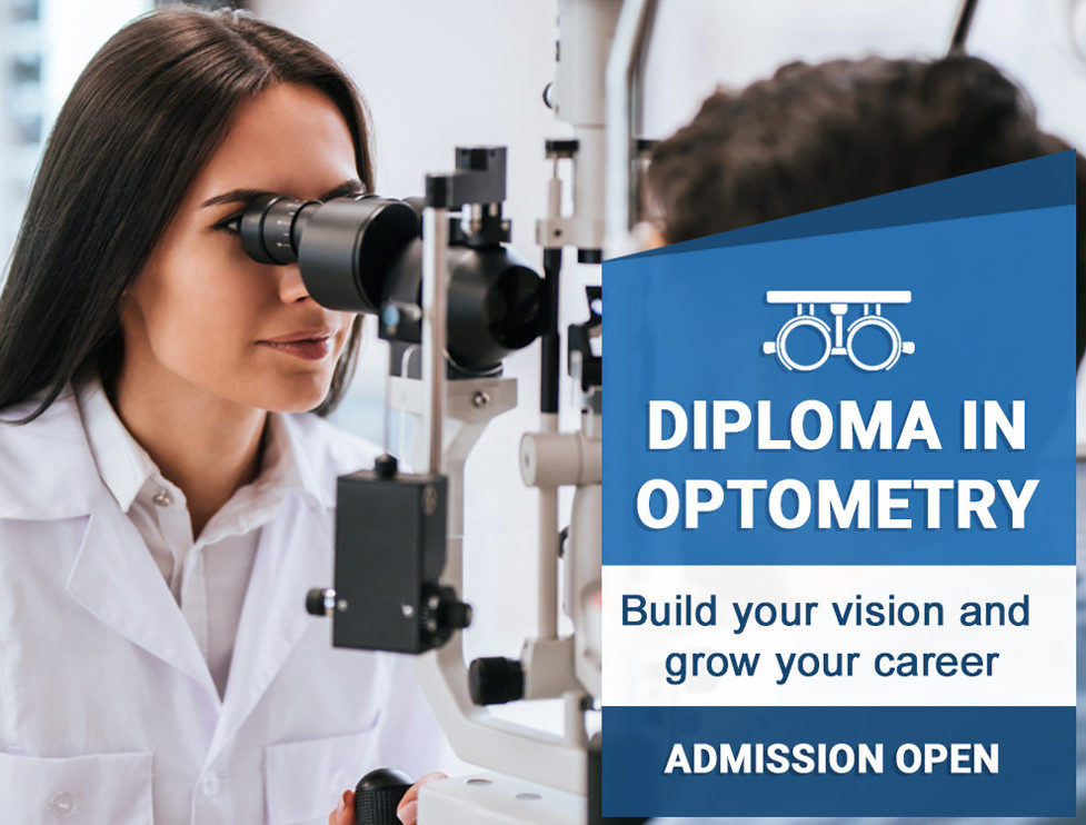 Optometry Admission India